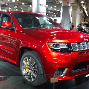 Right Hand Drive TrackHawk Is UK Bound